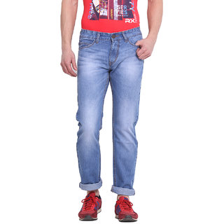Virtue Men Blue Casual Slim Fit Jeans (VRT36RGD)
