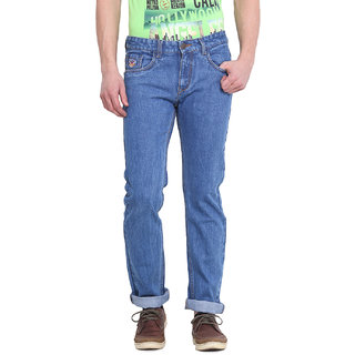 Virtue Men Blue Casual Slim Fit Jeans (VRT39RGD)