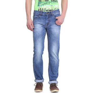 Virtue Men Blue Casual Slim Fit Jeans (VRT31RGD)