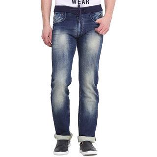Virtue Men Blue Casual Slim Fit Jeans (VRT72STR-SP)