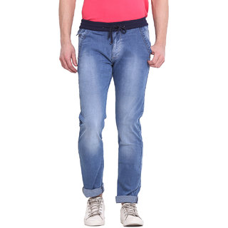 Virtue Men Blue Casual Slim Fit Jeans (VRT70STR-SP)