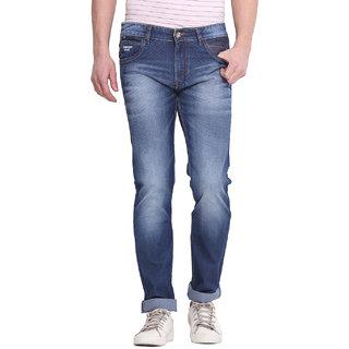 Virtue Men Blue Casual Slim Fit Jeans (VRT67STR-SP)
