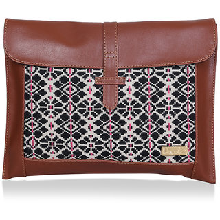 Paprika Black  Beige Colour Handbag