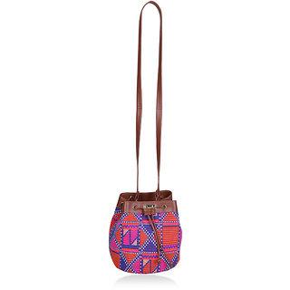 Paprika Multicolour Colour Sling Bag