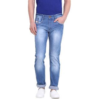 Virtue Men Blue Casual Slim Fit Jeans (VRT82STR-SP)