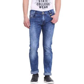Virtue Men Blue Casual Slim Fit Jeans (VRT84STR-SP)
