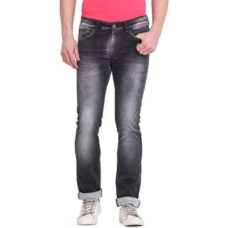 Virtue Men Black Casual Slim Fit Jeans (VRT90STR-SP)