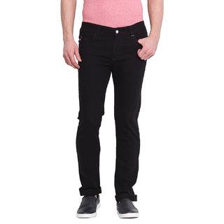 Virtue Men Black Casual Slim Fit Jeans (VRT83STR-SP)