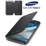 Flip Cover For Samsung Galaxy Note 2 N7100 - Black