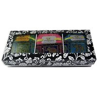 """Darjeeling Green Long Leaf,"""" Darjeeling Black Long Leaf & Assam Long Leaf Tea Gift Set"""