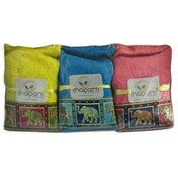 Darjleeing Black Long Leaf Tea,Nilgiri Tea & Assam Long Leaf Tea-Jute Set