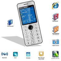 Ssky S1000 GSM With Full Metal Body, Facebook Multimedia Camera Mobile Phone