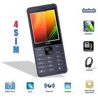 Chilli B35 (4 Sim 4 Standby) With Facebook Multimedia Camera Mobile Phone