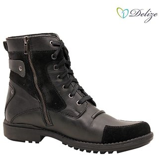 Delize Mens Black Boots