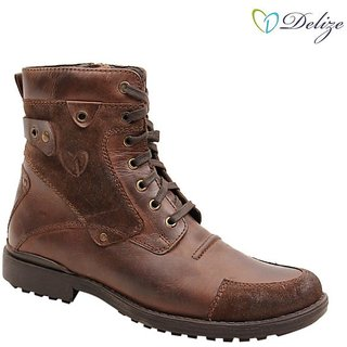 Delize Mens Brown Boots