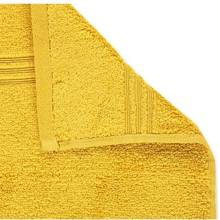 Spaces Yellow Cotton Hand Towels