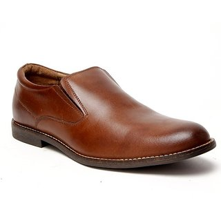 Delize Men's Brown Formal Shoes