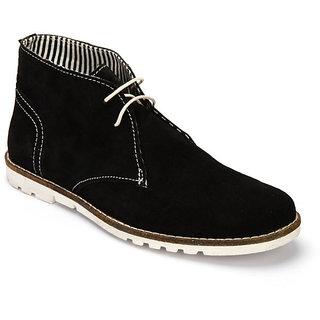 Delize Men's Black Loafers