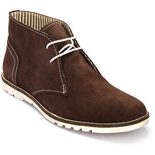 Delize Men's Brown Loafers