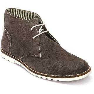 Delize Men's Grey Loafers