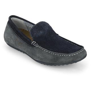 Delize Men's Navy & Roadgrey Loafers