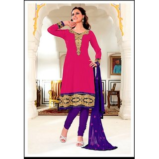Women's Bollywood Salwar Kameez Black Design 834