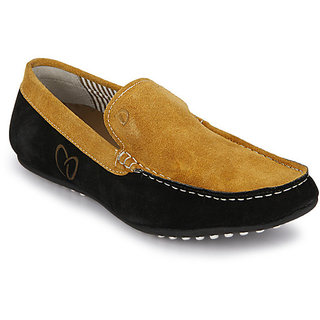 Delize Men's Mango & Nigro Loafers