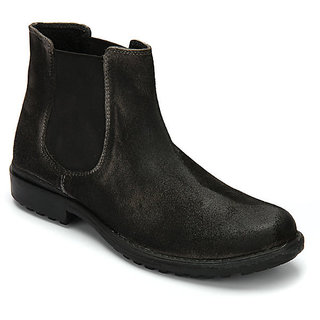 Delize Men's Grey Boots Option 1