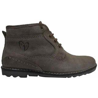 Delize Mens Taupe Ankle Boots