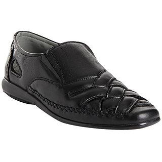 Delize Men's Black Sandals Option 1