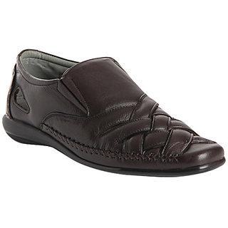 Delize Men's Brown Sandals Option 1