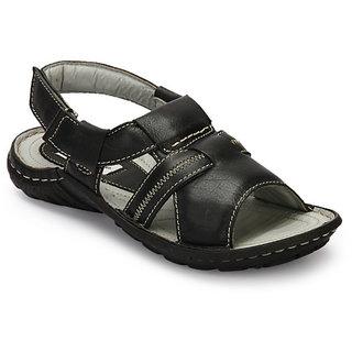 Delize Men's Black Slipers