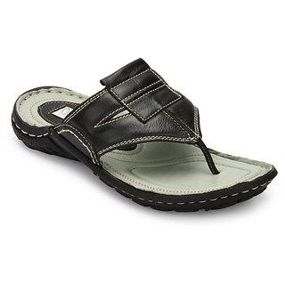 Delize Men's Black Slipers Option 2
