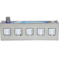 TIKNOS Chargeable 18 Led Emergency Light + 7 Power Tuner (Steel Made Body)