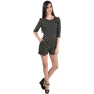 Mansi Collections Polka Print Jumpsuit