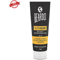 BEARDO ULTRAGLOW All in 1 Mens Face Lotion - 100g