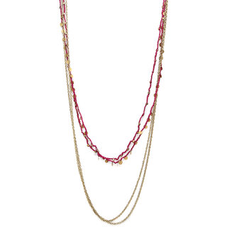 Salt Chain Of Command Layered Necklace