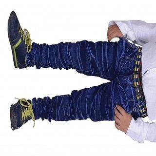 kiaraa blue denim jeans for kids