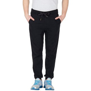 Hypernation Black Twill Pant For Men