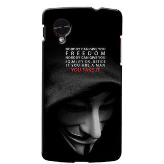 G.Store Hard Back Case Cover For Lg Google Nexus 5 15202
