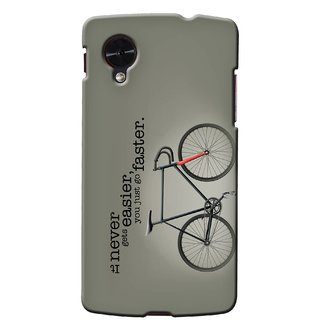 G.Store Hard Back Case Cover For Lg Google Nexus 5 15211