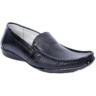 Sole Strings Mens Black Casual Shoes (ASHK-190310BM00)