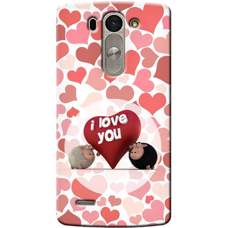 G.Store Hard Back Case Cover For Lg G3 Beat 14947