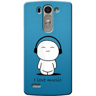 G.Store Hard Back Case Cover For Lg G3 Beat 14948