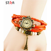 Ladies Wintage Watch - Ladies Orange Watch