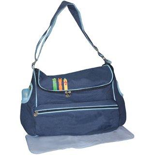wonderkids blue baby diaper bag buy wonderkids blue baby diaper bag online a. Black Bedroom Furniture Sets. Home Design Ideas