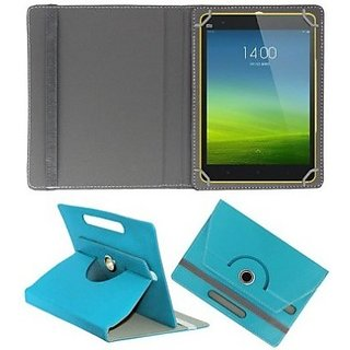 Rotating 360 Degree Flip Stand Cover For 7inch Toshiba Excite Go - Sky Blue