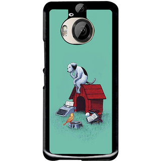 Instyler Digital Printed Back Cover For Htc M9 Plus HTCM9PDS-10190