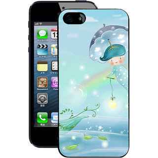 Instyler Digital Printed Back Cover For Apple I Phone 5 IP5DS-10246