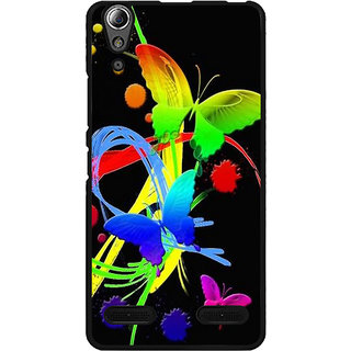 Instyler Digital Printed Back Cover For Lenovo A6000 LENA6000DS-10297